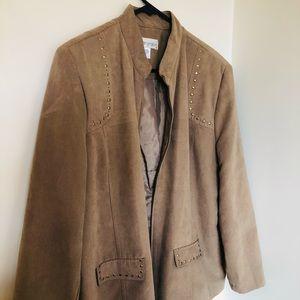 Vintage Fella Hamilton Suede feel Jacket |Size :16